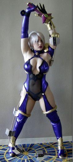 costum, soulcalibur, comic, cosplay girl, soul calibur, ivy, video game, sexi cosplay, ivi valentin