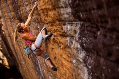 Sasha Digiulian. 19 years old and already one of the world's greatest climbers. First woman to ever climb a grade 9a.