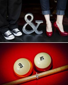 Jessica & Raul's Retro Engagement Shoot - Photo Credit:  Jamie Davis Photography