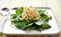 Recipe: Egg and Herb Salad || Photo: Andrew Scrivani for The New York Times