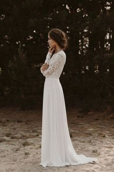 longer sleeve moderate wedding gowns #beautifulweddingdresses #weddingdressesundersimple #topweddingdresses2019 #topweddingdressesmagazines #weddingdressescheapnearme