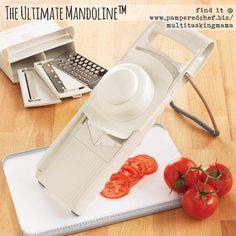 I love this!! Pampered Chef's Ulitimate Mandoline