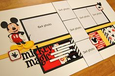 #disney #scrapbook #layout @Allison j.d.m j.d.m j.d.m j.d.m j.d.m Davis