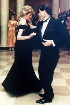 Diana Princess of Wales & John Travolta.