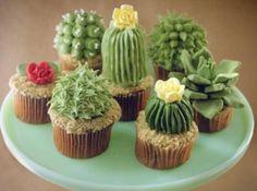 cacti cupcakes!!!! | RP »  .