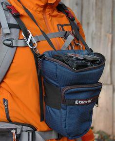 How to trek my camera through the woods