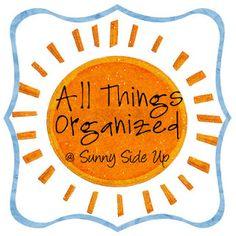 Amazing blog with organizing ideas!