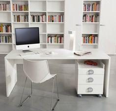 Clean, minimal, white