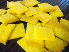 Coconut Flour Cheese Crackers