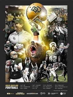 #Baylor Football 2014. #SicEm