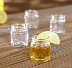 idea, masons, cool shot glasses, mason jar shot glasses, shot glass collection, drink, mason jars, thing, parti