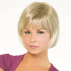 Lana Wig - Cutting edge style for the woman who loves to be noticed. . . sassy and spirited! Find this style & more @ thewigcompany.com