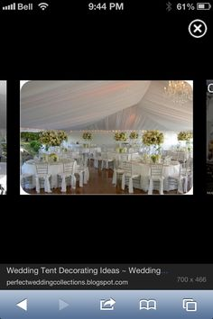 tents, tent wedding, wedding ideas, weddings, white tent, creativ idea