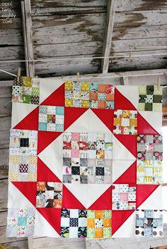 9patch quilt, sew, 9patch block, forev quilt, scrappi quilt, pattern, ninepatch set, quilt inspir, quilts