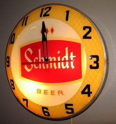 Schmidt Beer Clock
