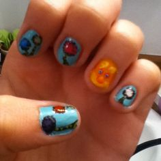 The Lorax and trees nails