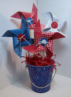 July 4th Pinwheels
