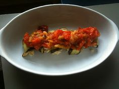 Vegan Eggplant Involtini. Soooo good!