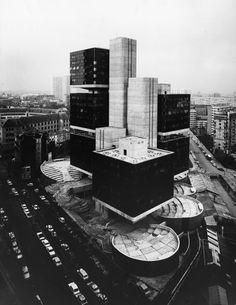 Centre Pierre Mendès France, Paris, 1970-73 — Pierre Parat