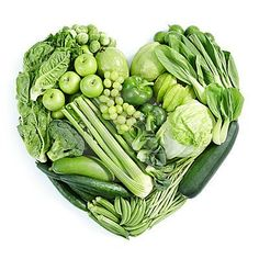 perfect pic-GOO GET YOUR GREEN FOOD..eat good:)  especially the vegetables, help prevent the risk of cancer, diabetes, and heart disease.  They contribute to bone health, eye health, and the functioning of the body's immune system.  Green vegetables are low in fat and high in fiber.  For maximum benefits eat a variety of them, especially the dark green ones.