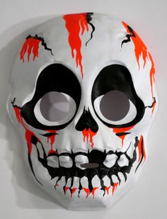 Skull Mask by ViciousDelights on Etsy, $18.00