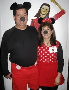 Mickey and Minnie Group Costume Entry