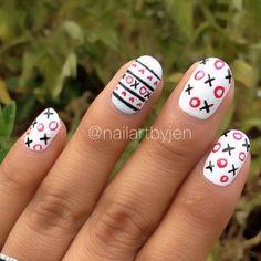 valentine by nailartbyjen #nail #nails #nailart