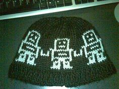 robeanie with pattern - KNITTING  handmade gifts for men on Craftster.org