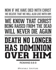 sin has lost its power. death has lost its sting. from the grave You've risen. victoriously!   Have faith.