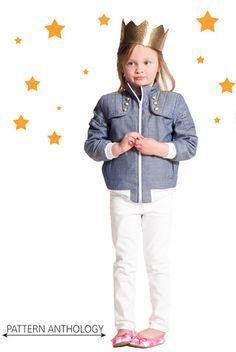 Imagine Jacket   Pattern Anthology