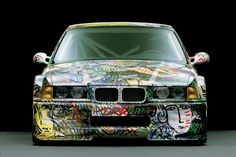 BMW E36 ///M3 Art Car