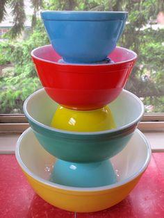 Beautiful mixing bowls