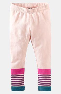 Tea Collection 'Pop Art' Stripe Leggings (Toddler Girls, Little Girls & Big Girls) | Nordstrom