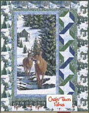 Winter Stillness Quilt Kit