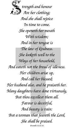 Proverbs 31