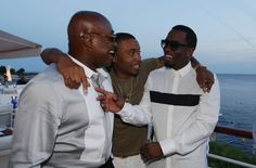 P Diddy at the Medialink and Clear Channel Vip Dinner at Hotel du Cap, Antibes. (Photo by Ella Pellegrini) #CannesLions