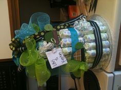 another boy diaper cake