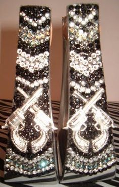 I think these are so cool! bling stirrups!