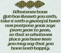 Irish Birthday Blessing Photo:  This Photo was uploaded by mayceemae. Find other Irish Birthday Blessing pictures and photos or upload your own with Phot...