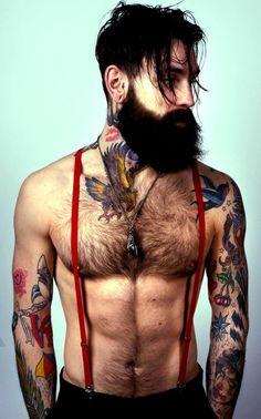 beards and tattoos