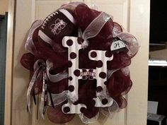 Hey Stacy, this would work!! Mississippi State Wreath by KarensKraftyWreaths on Etsy