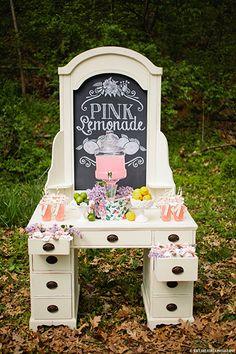 Lemonade station  #food #pink #chalk