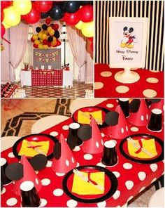 mickey birthday party birthday-parties