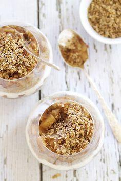 cinnamon apple #quinoa parfait #food #recipe