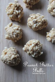 Oh so good Peanut Butter Balls