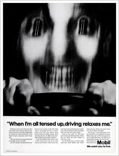#creepy #vintage #ad from Mobil