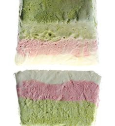 Pistachio, Strawberry, and Vanilla Semifreddo | 53 Amazing PistachioDesserts