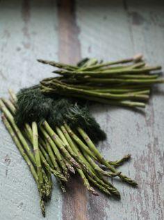 Parmesan Asparagus Soup with Dill