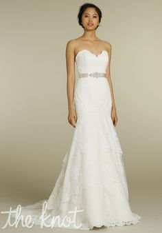 Check out this #weddingdress: 2206 by Tara Keely by Lazaro via iPhone #TheKnotLB from #TheKnot