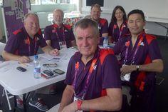 Our team of volunteers london olymp, olymp 2012